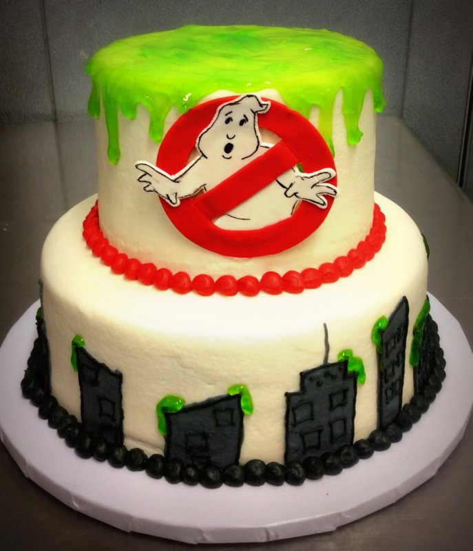 Ghostbusters Party Cake Trefzgers Bakery