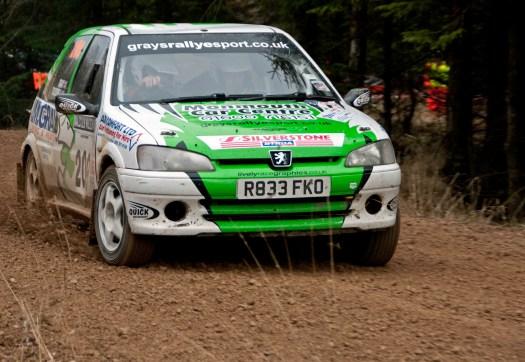 Peugeot 106 Rally Car