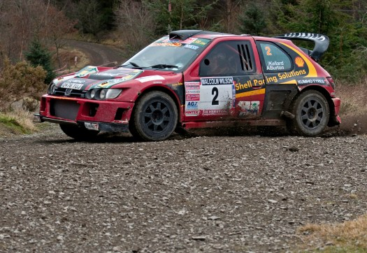 Peugeot Cosworth Rally Car