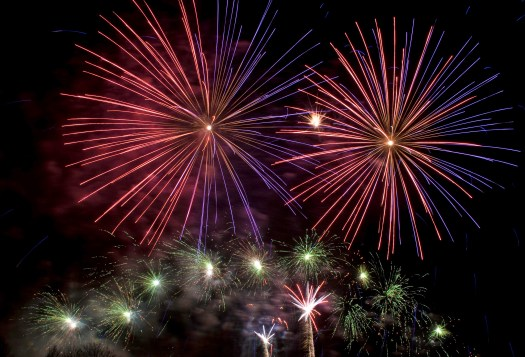 End of the Year Fireworks