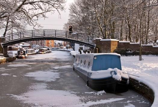 Bridge over the Bridgewater Canal Manchester