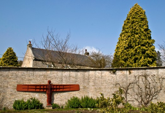 Eggleston Hall Gardens Angel Replica