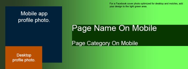 Facebook Cover and Profile Photo Template for Desktop AND ...