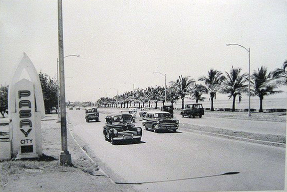 Dewey Boulevard in the late Fifties