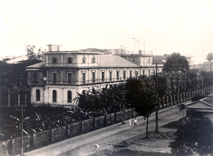Ateneo campus on Padre Faura in 1932