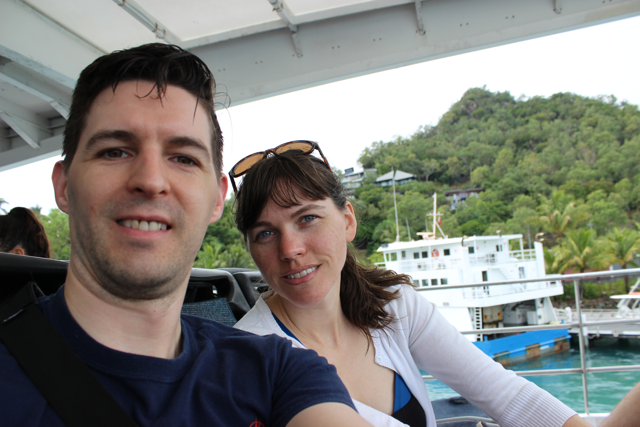 Enjoying the Whitsunday Islands in Australia