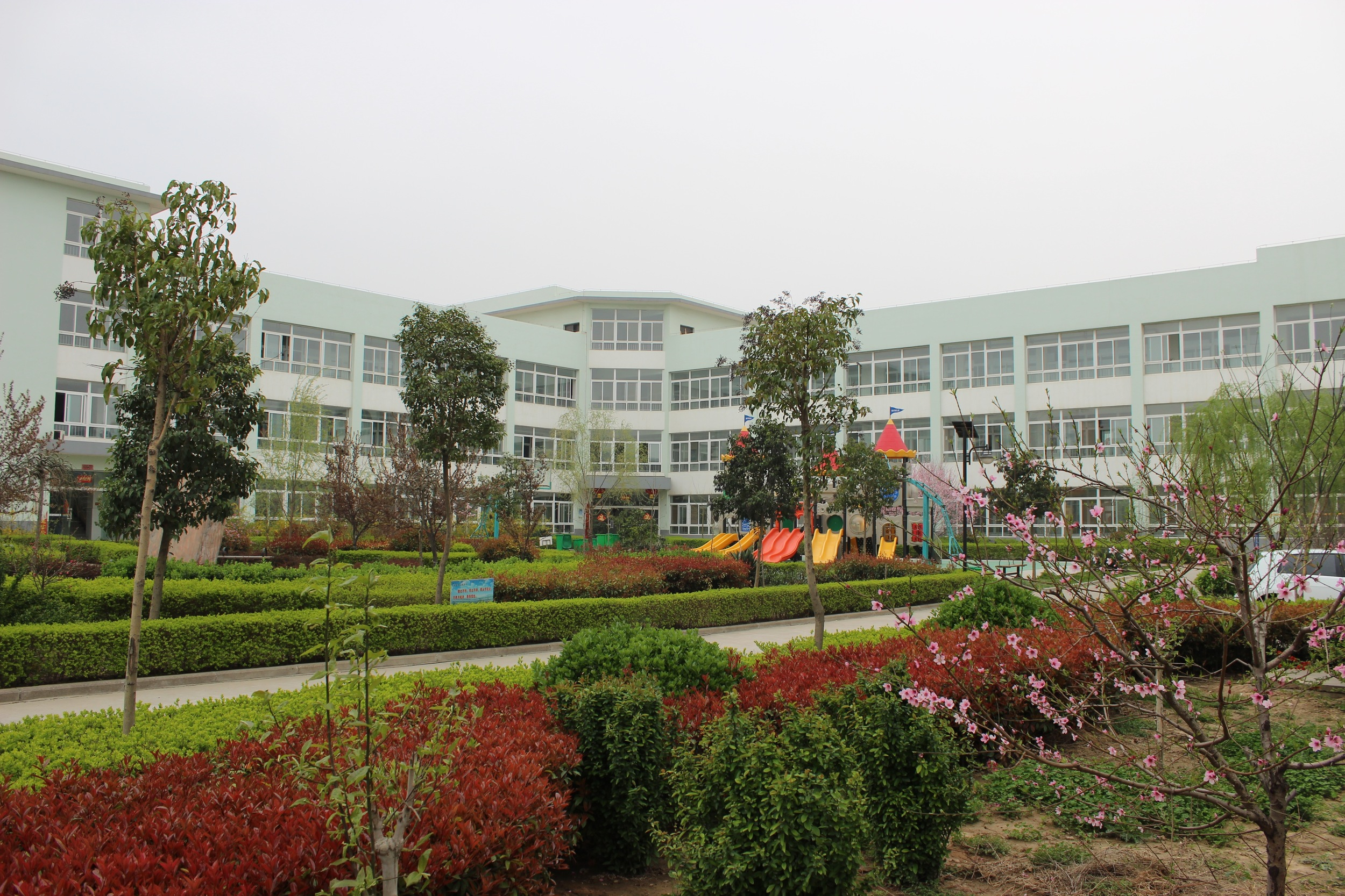 The centre where the kids lived in Sanmenxia.
