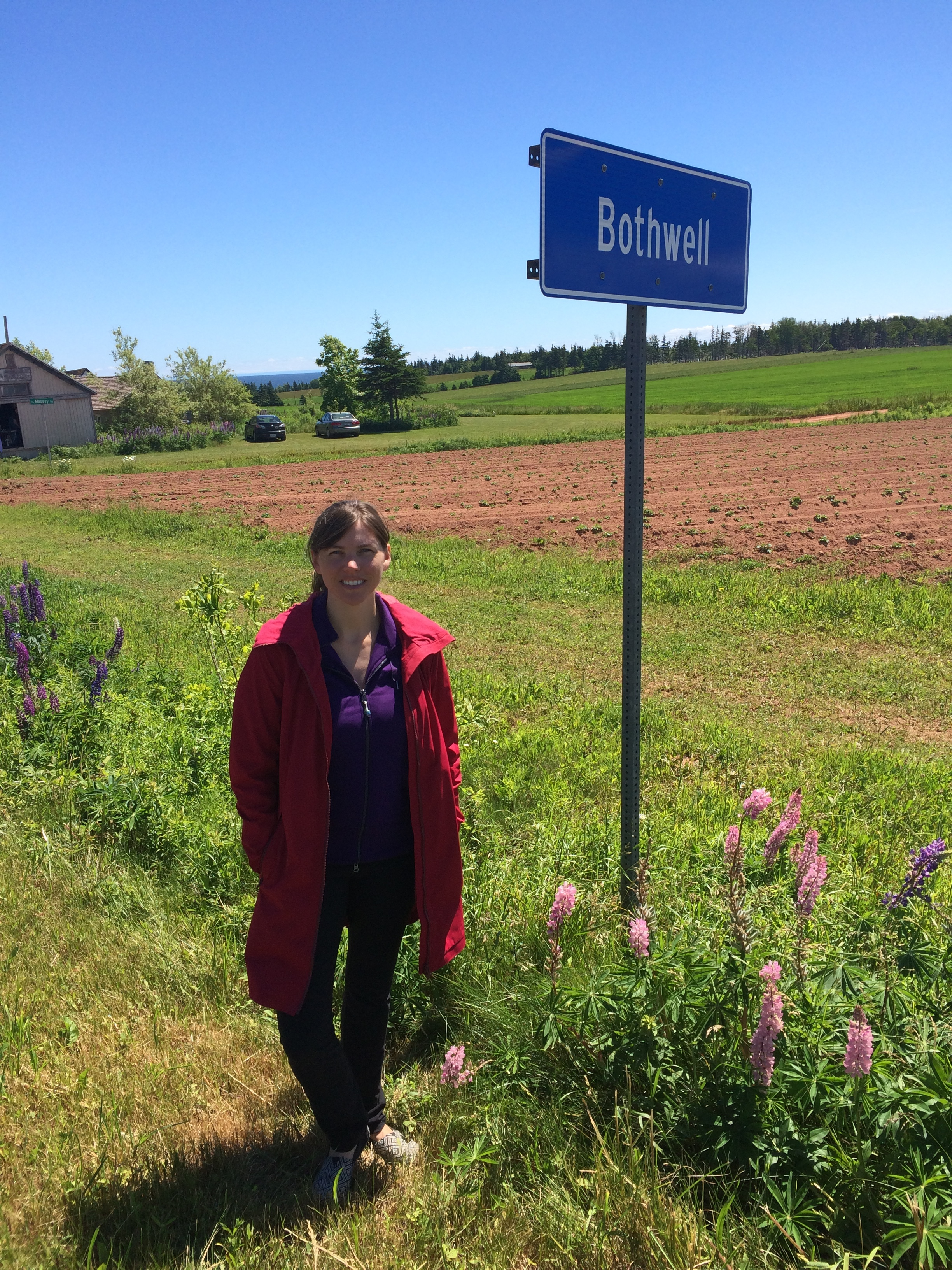 There is a Bothwell in PEI and it is even smaller than the Ontario one.