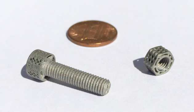 Truly incredible resolution on these tiny 3D metal prints from Digital Metal
