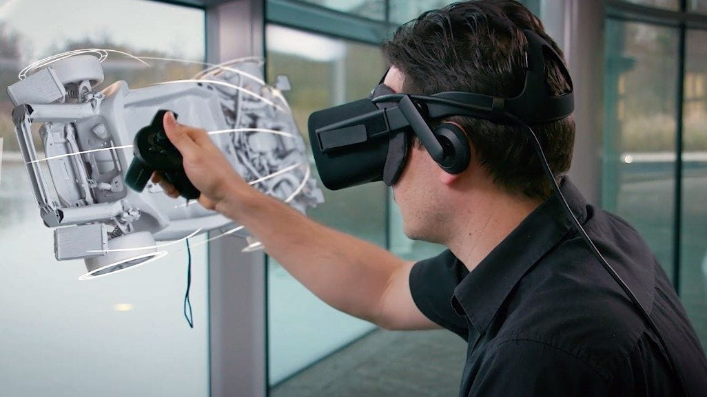 See How McLaren Uses VR For Car Body Design