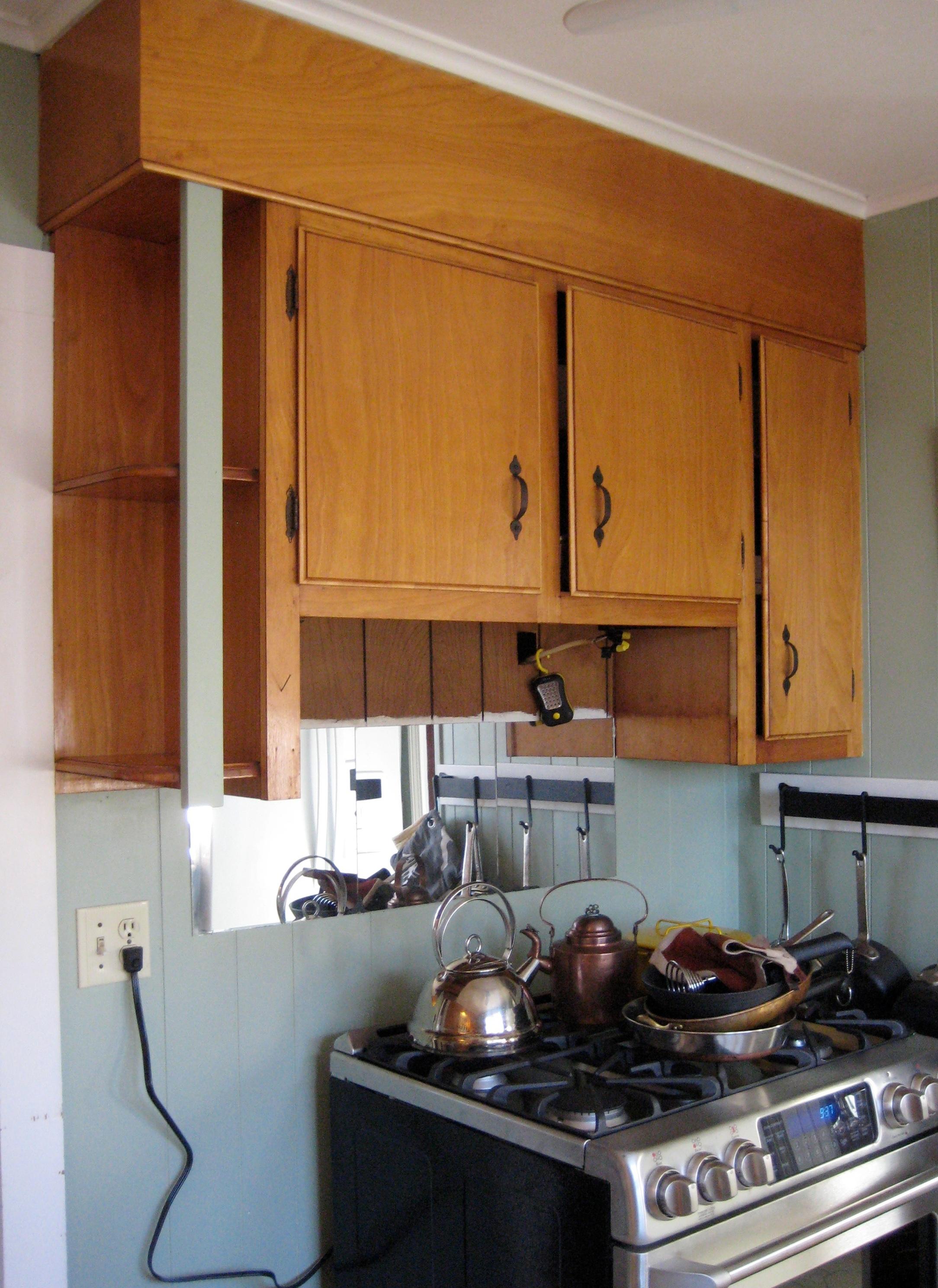 Best Kitchen Gallery: Kitchen Makeover C Crowder Painting of 1950s Kitchen Cabinets on rachelxblog.com
