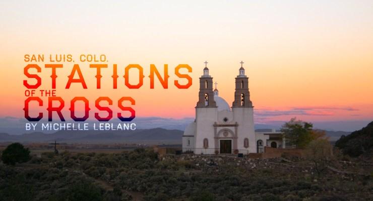 Dusk on the mesa above San Luis where La Capilla de Todos Los Santos (the Chapel of All Saints) resides. Photo courtesy Jeremy Elliott.