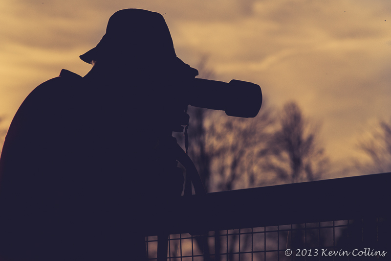 Silhouetted Shooter