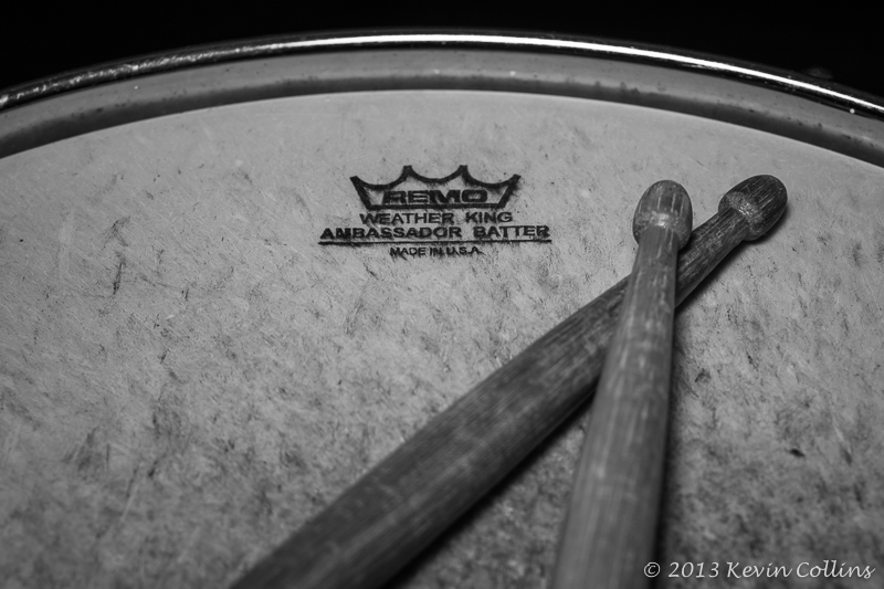 Drum Head & Sticks