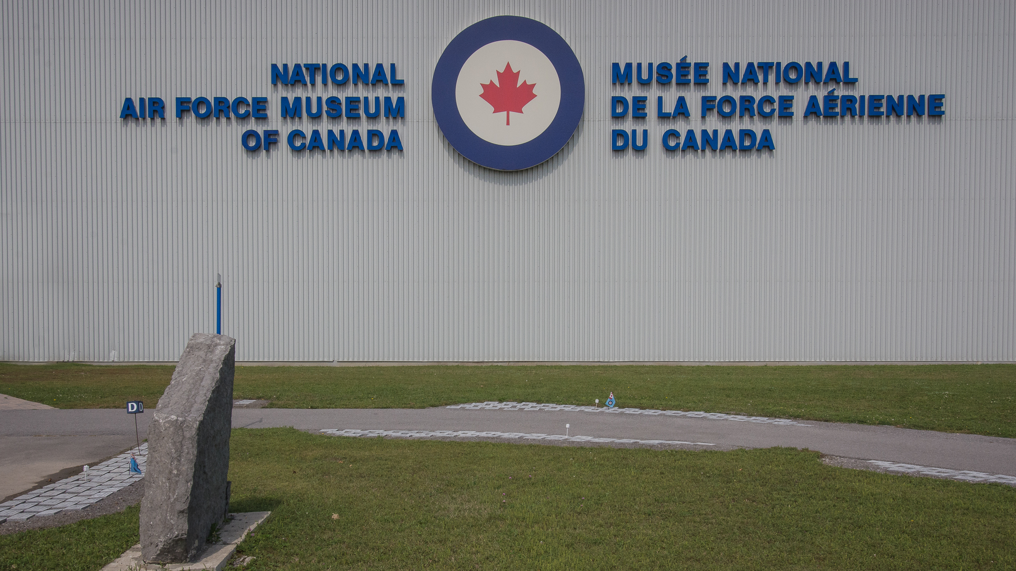 National Air Force Museum of Canada (1/800s, f/16, ISO400)