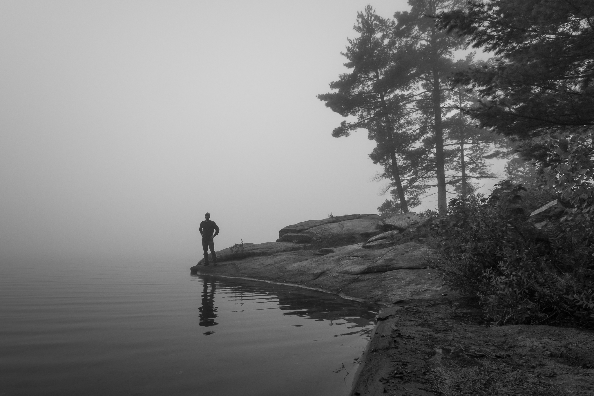 Early Morning on Rock Lake (1/50s, f/8, ISO400)