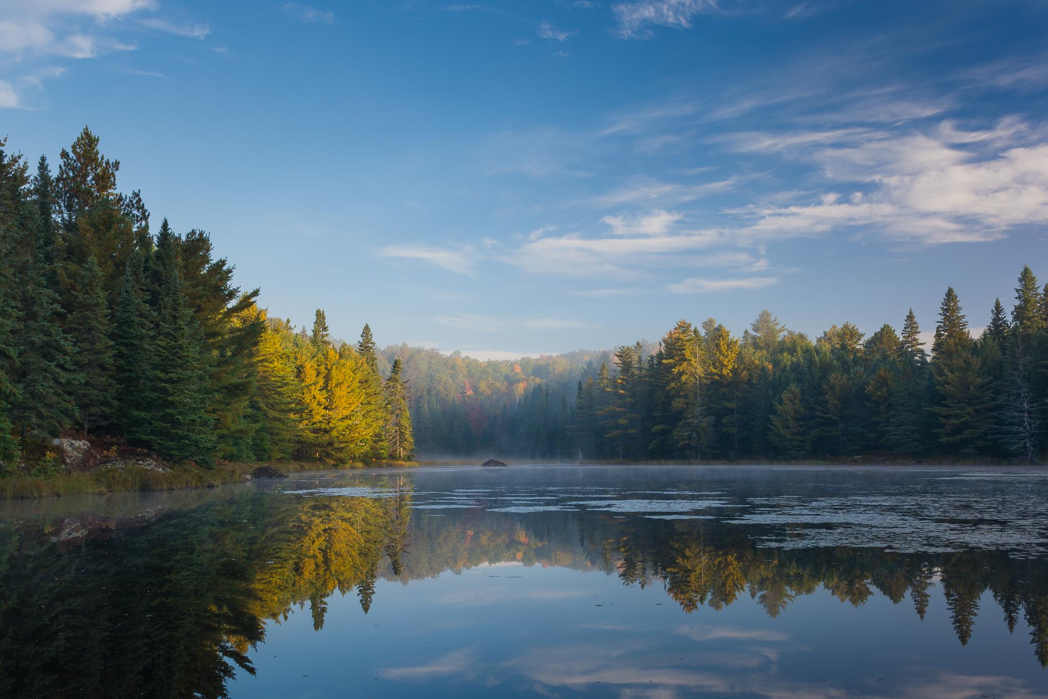 Eucalia Lake (1/13s, f/11, ISO100)