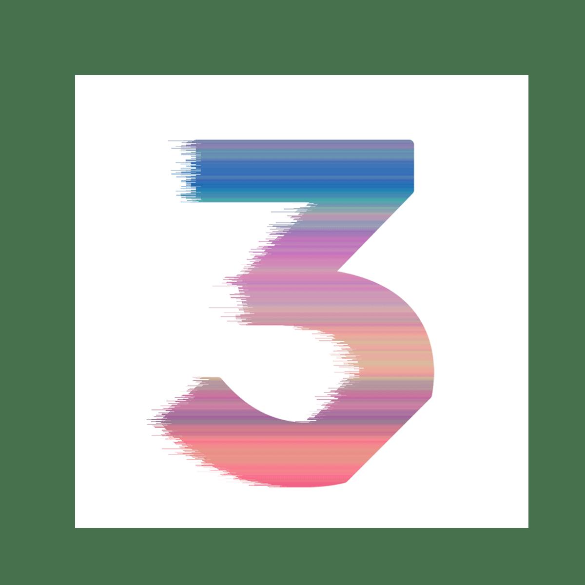 Chance 3 Sticker Square Multicolor Chance The Rapper