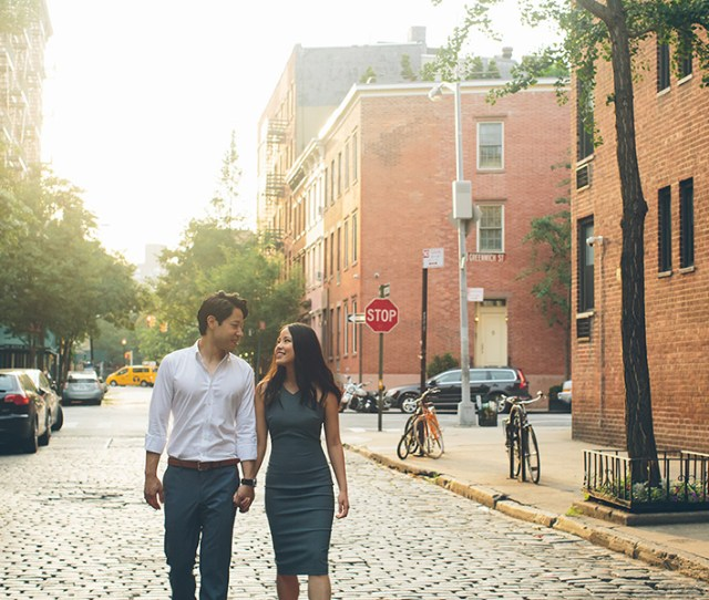 Daisy John West Village Engagement Session Nyc Cynthiachung