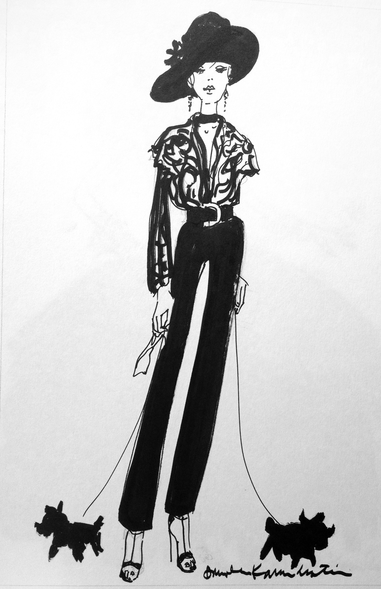 fashion sketches SKETCHES FASHION 06 jpg