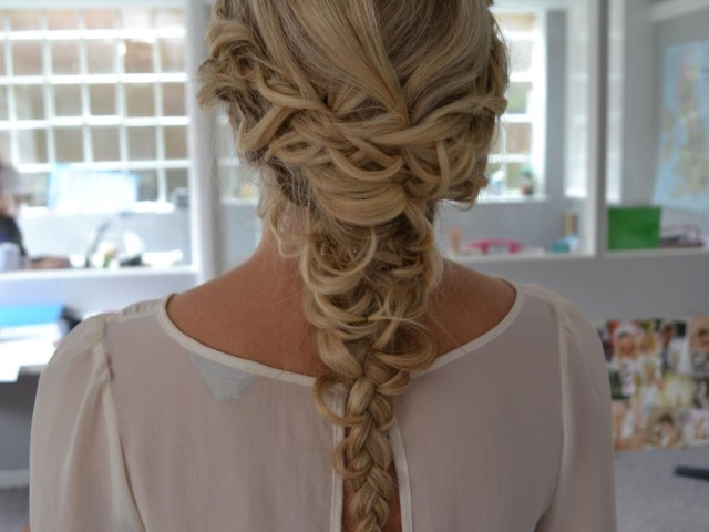 wedding hair with plaits & braids perfect for festival loving and