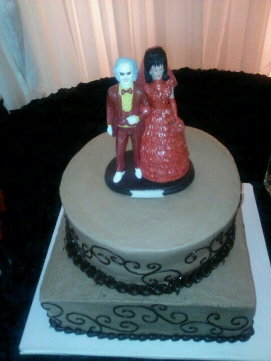 28 Beetlejuice Themed Birthday Amp Wedding Cakes The World