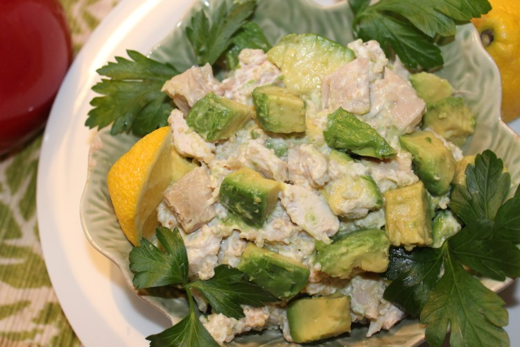 IMG_0918 Avocado Chicken Salad Lighter Version