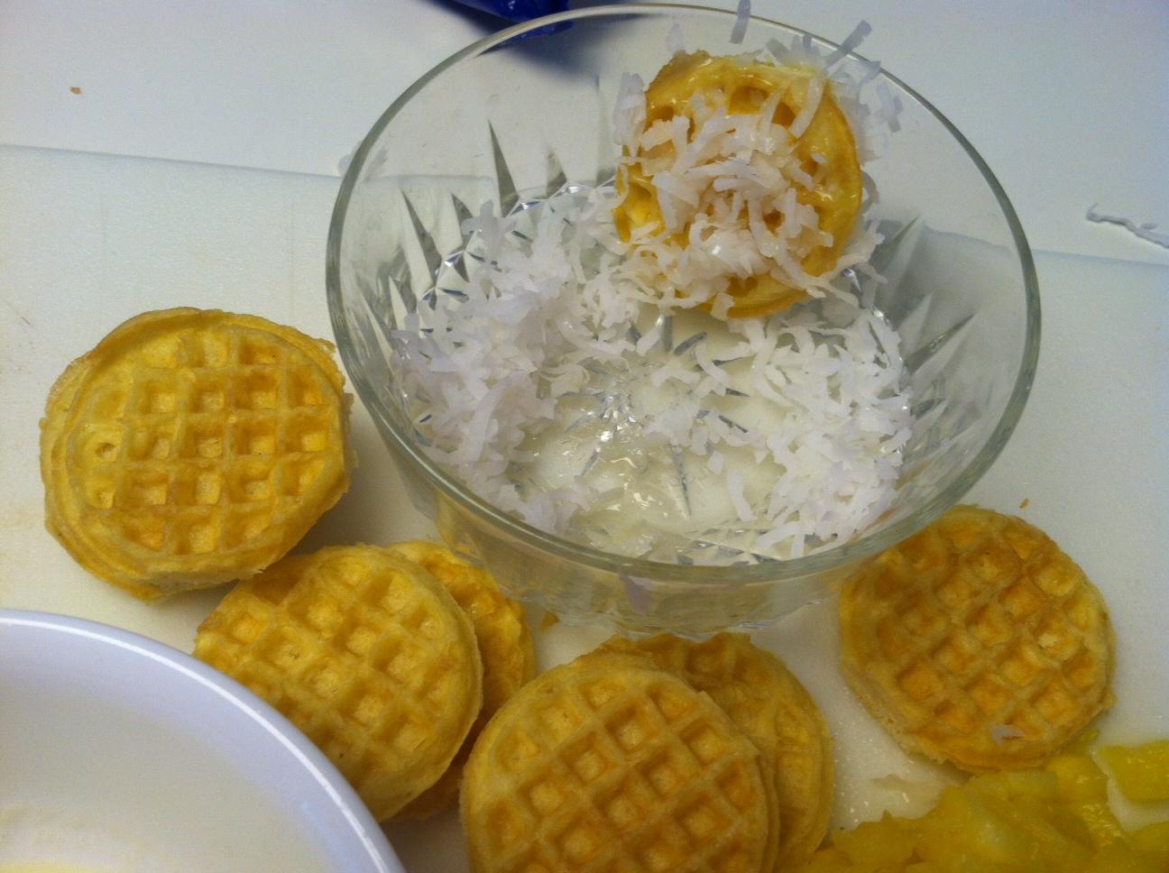 photo+3 Pina Colada Waffle Cookie