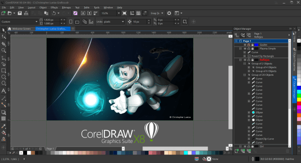 CorelDRAW X8 adds RealTimeStylus support Surface Pro Artist