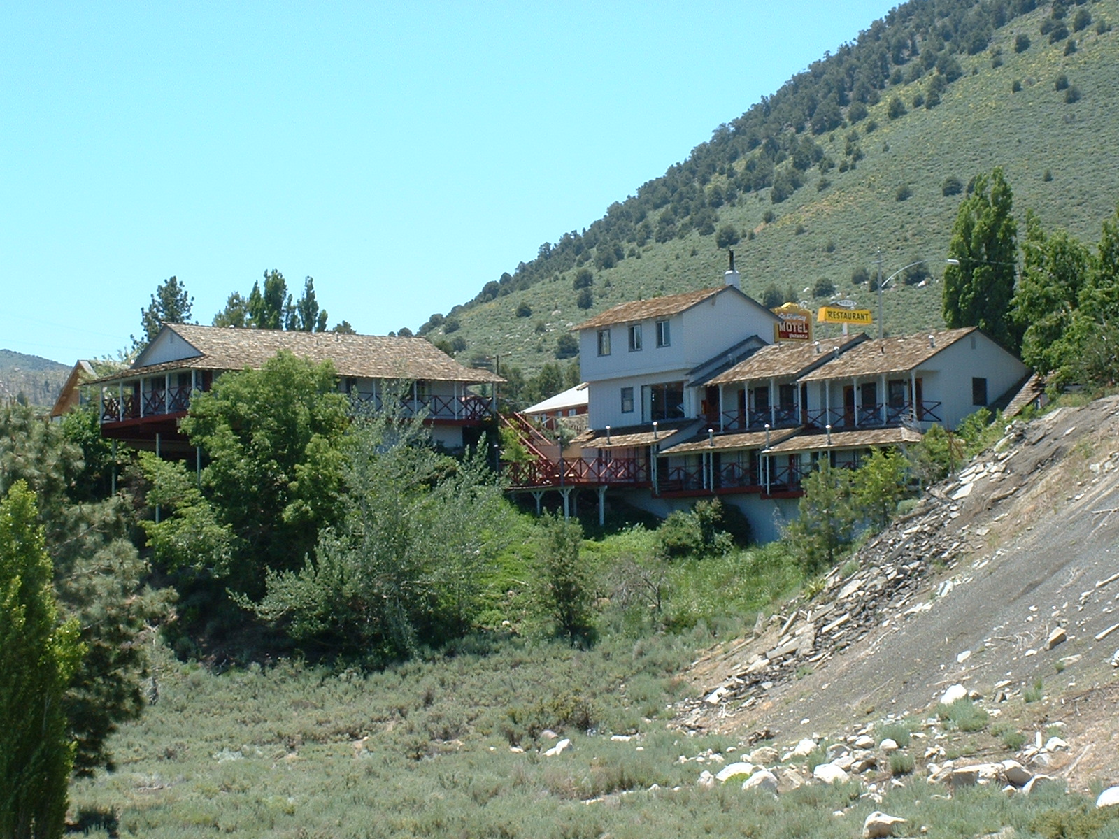 Yosemite motel