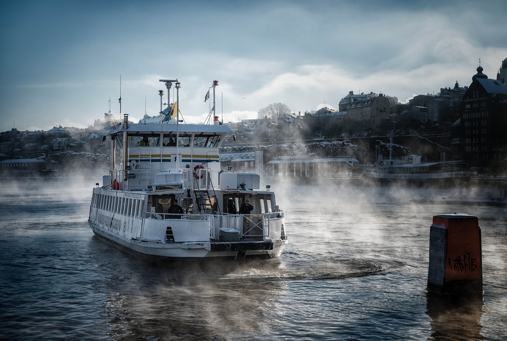 Ferry to Djurgården