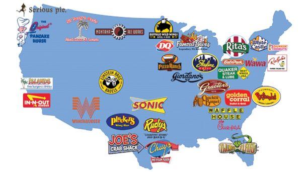 List Fast Food Chains
