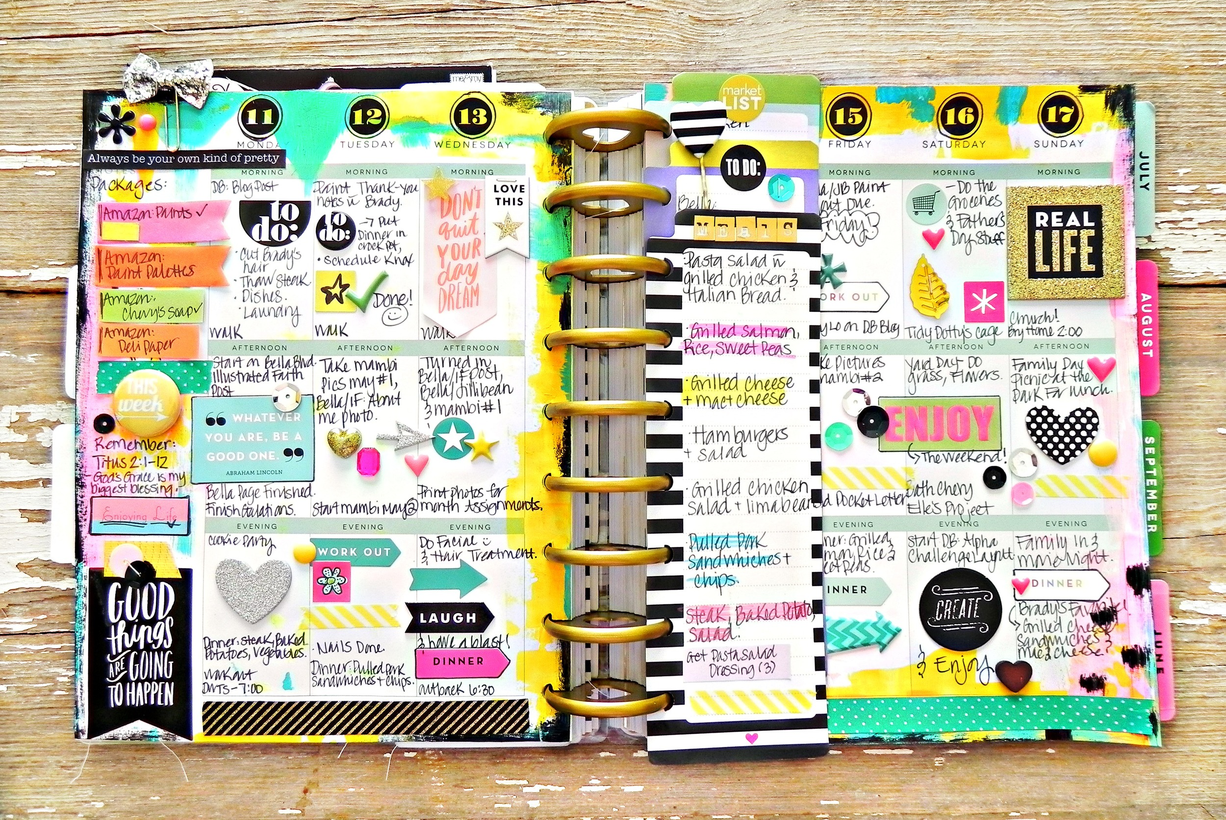Create 365 The Happy Planner Painty May Week Me Amp My