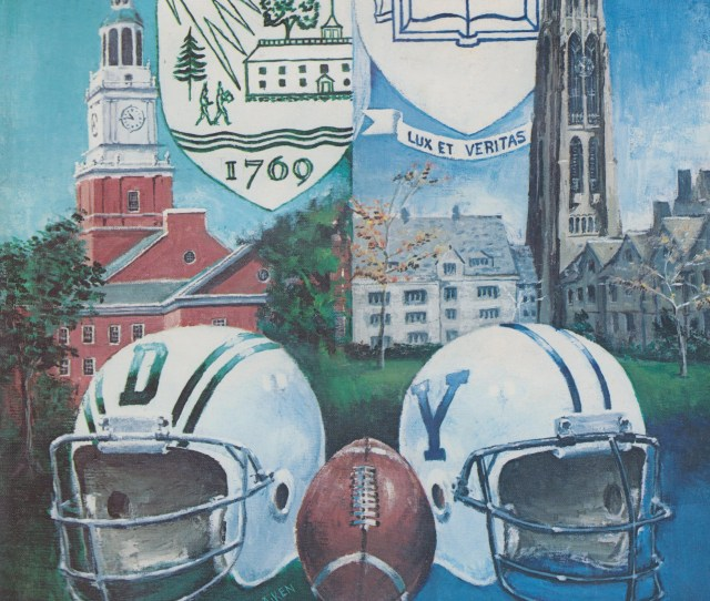 Dartmouth Yale 1981