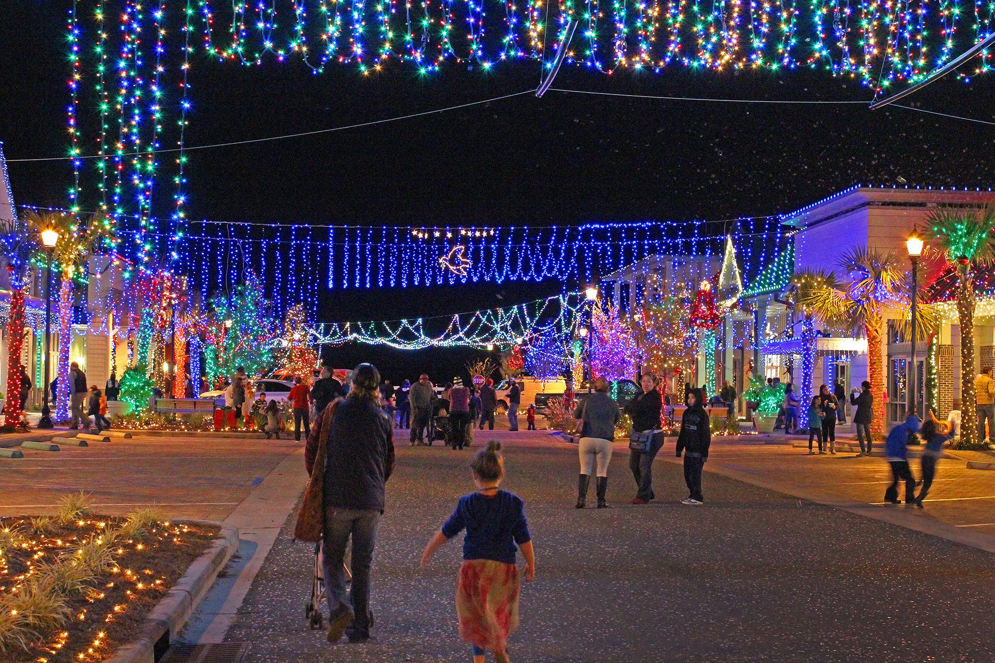 Image result for dove street festival of lights hilton head