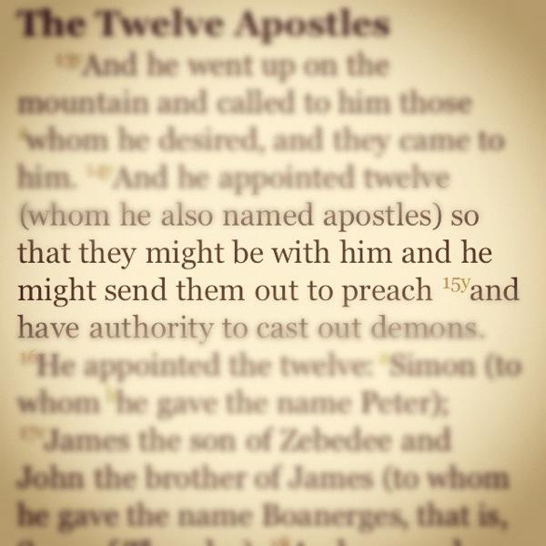 Mark 3:14