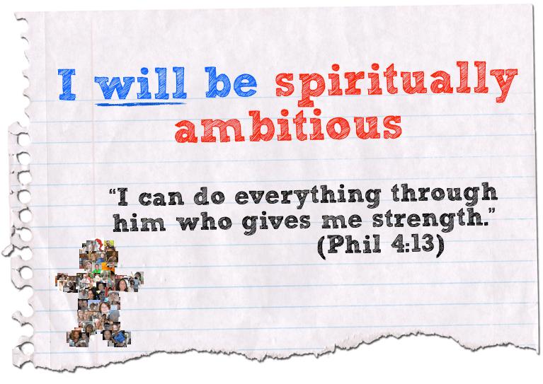 Spiritual ambition