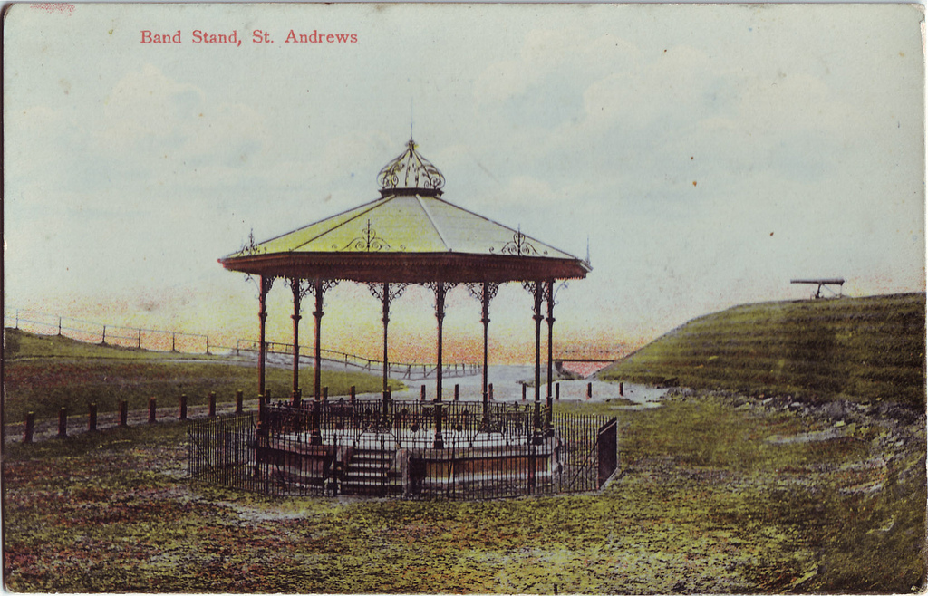 Gig at St Andrews' bandstand