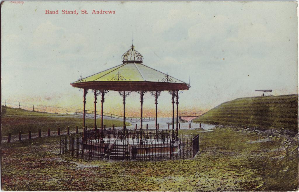 Gig at St Andrews' bandstand