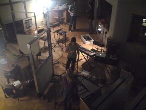 Live recording at the BBC