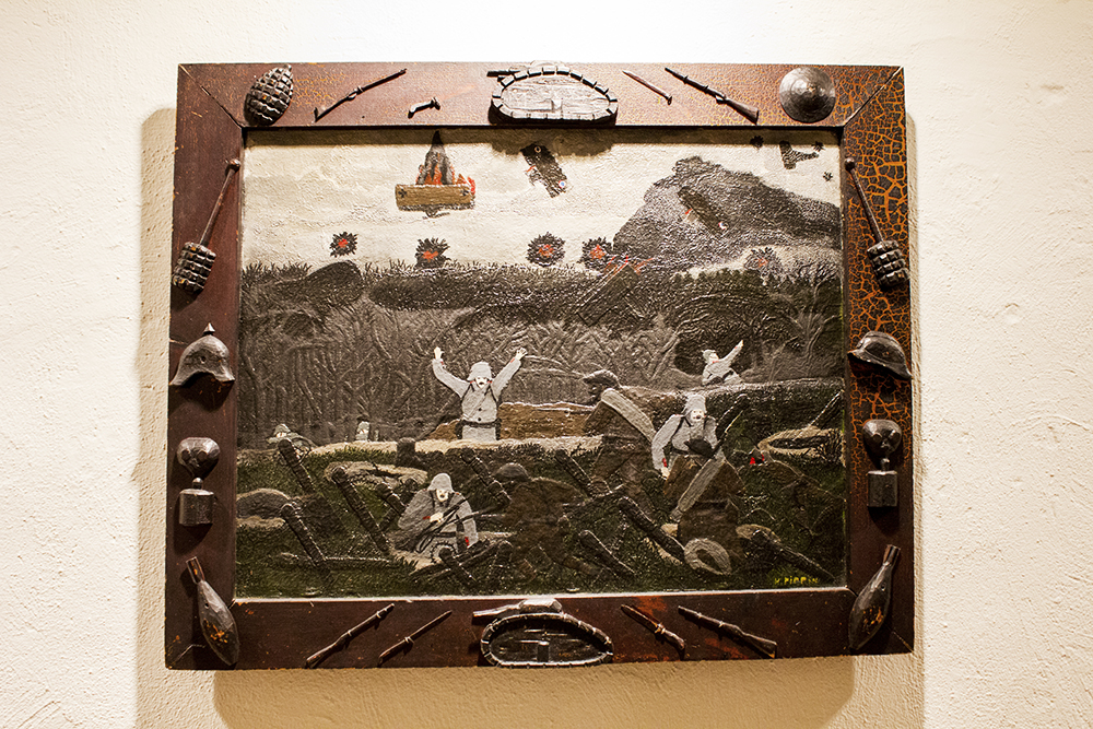 It's rare to see World War I (or most wars really) from the Black Soldier's perspective. Horace made the frame too.