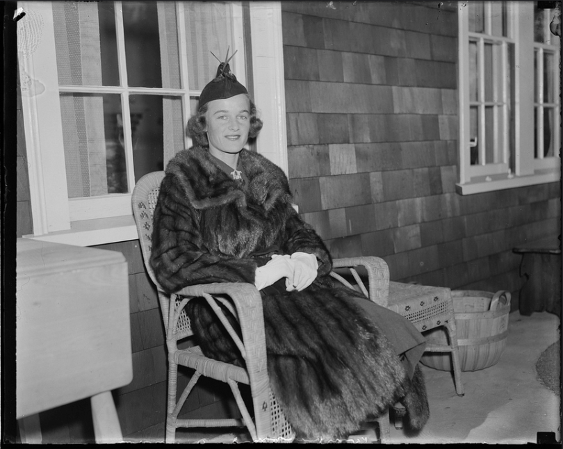 Ethel in an undated photo by Leslie Jones From the Boston Public Library.