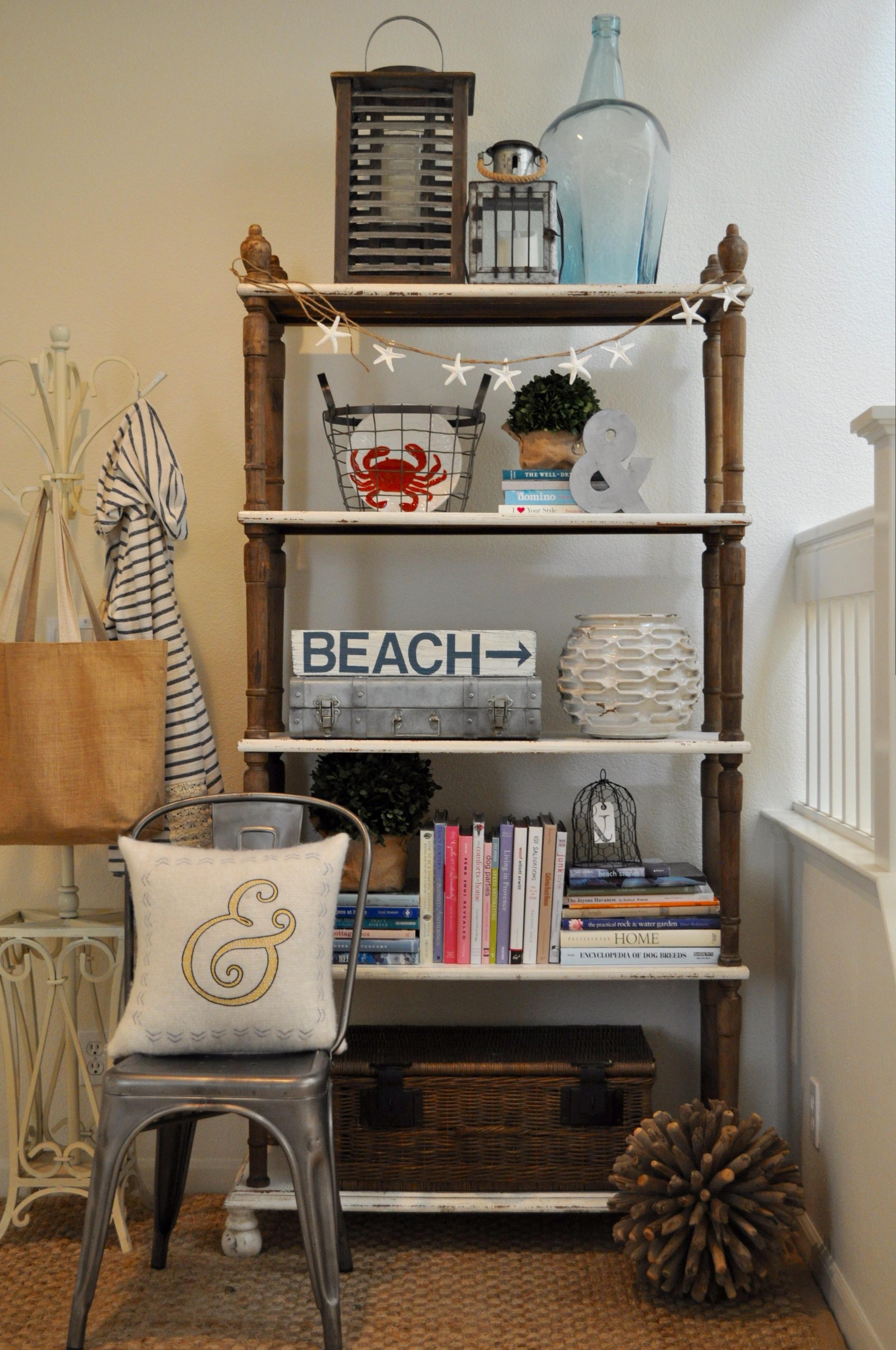 Entryway Coat Rack Shelf