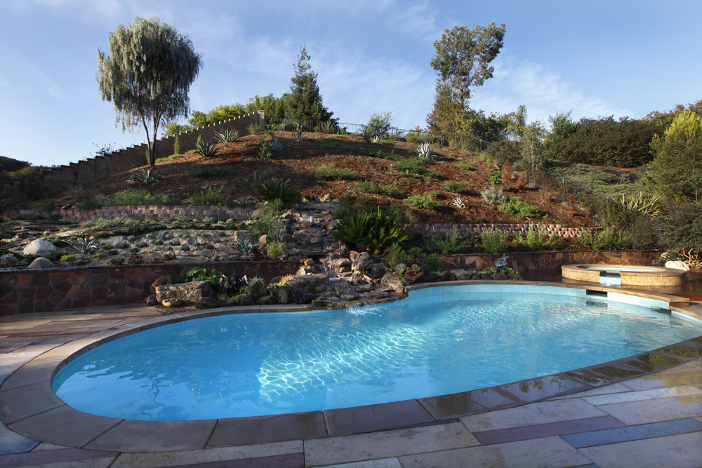Singing Gardens | Blog | Steep Slope Landscaping on Backyard Hill Landscaping Ideas  id=33394
