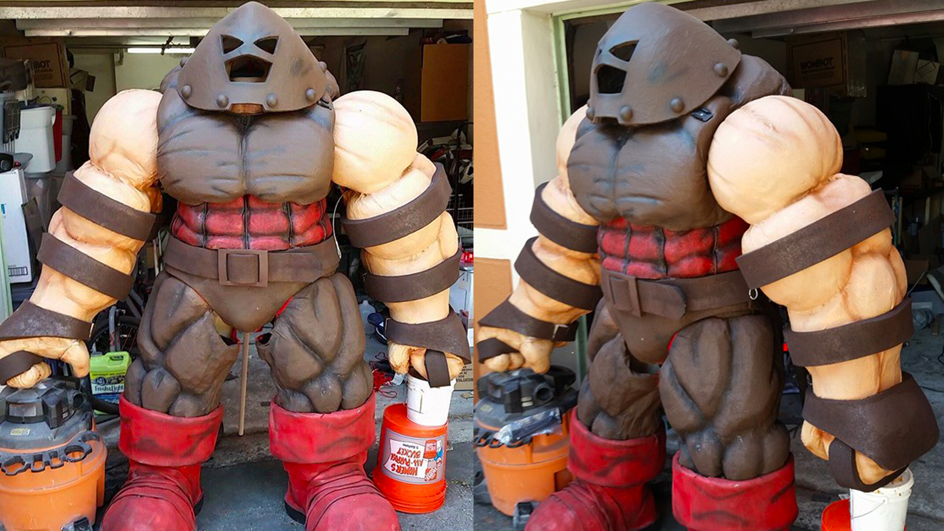 This Guy Built A 7 Foot Tall Juggernaut Cosplay Suit