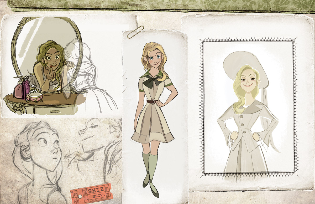 WICKED Imagined As A Disney Animated Film