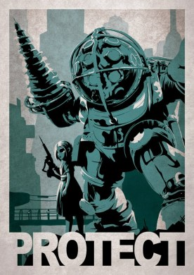 Cool Video Game Poster Art by Alex Ramallo     GeekTyrant Cool Video Game Poster Art by Alex Ramallo