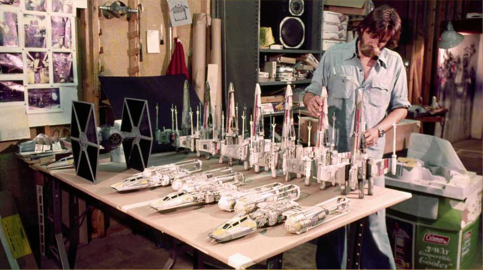 140 Amazing Photos Of ILM Building STAR WARS Movie Models GeekTyrant