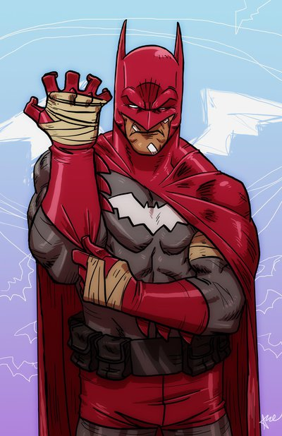Batman Characters Reimagined With Alternate Colors