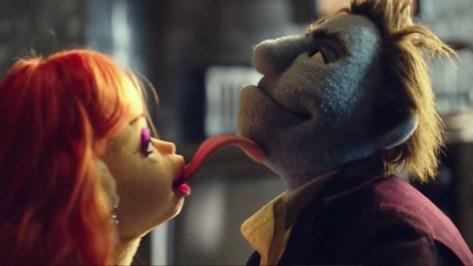De vunzige puppets uit The Happytime Murders
